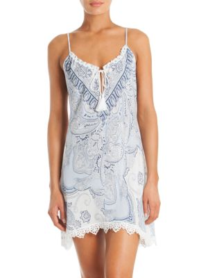 In Bloom Ashbury Paisley Printed Chemise
