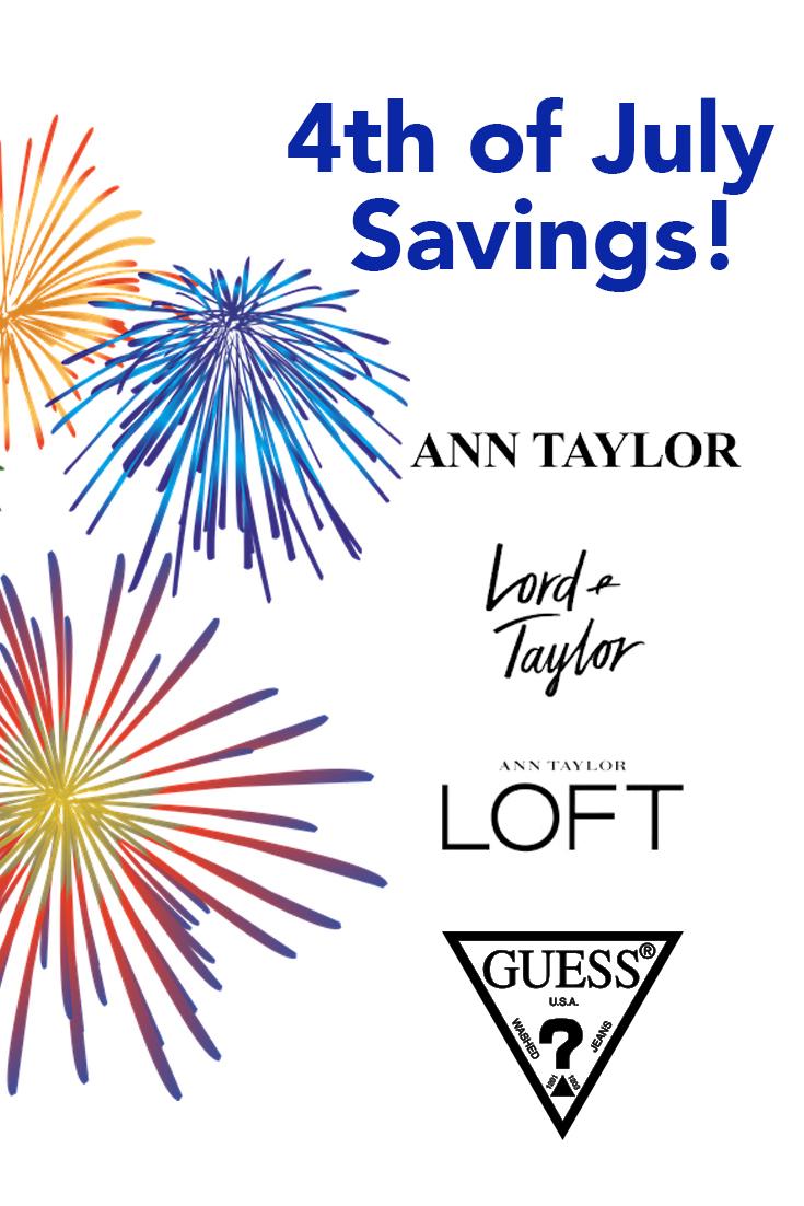 4th of July Savings