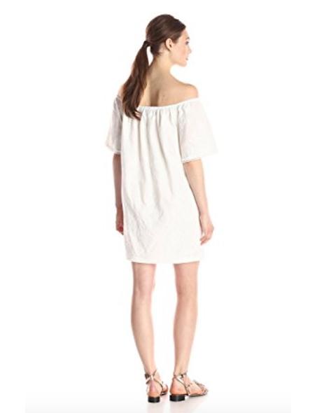 BB Dakota Women's Manda Floral-Pattern Off-The-Shoulder Dress