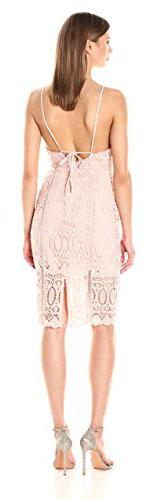 JOA Women's Tank Lace Dress
