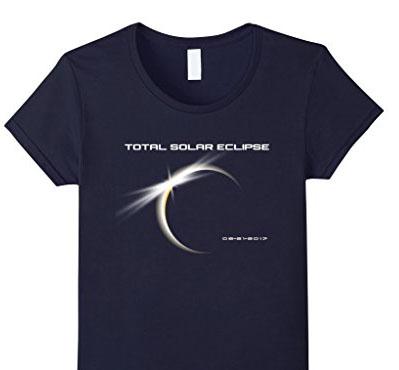 Total Solar Eclipse 2017 - Premium Total Eclipse T-Shirt