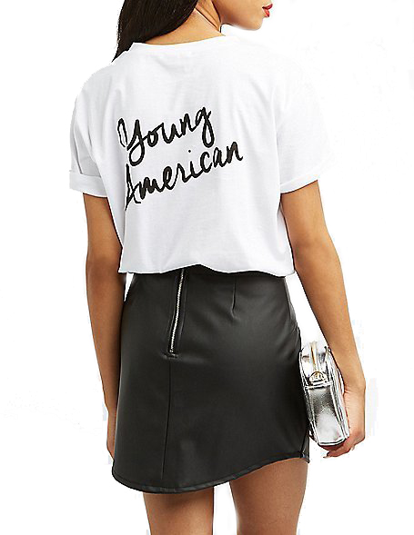 Young American Crew-Neck Tee